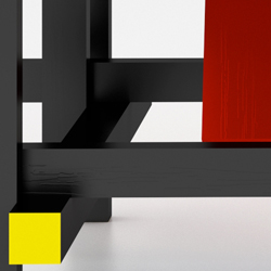 Rietveld Chair Front Detail