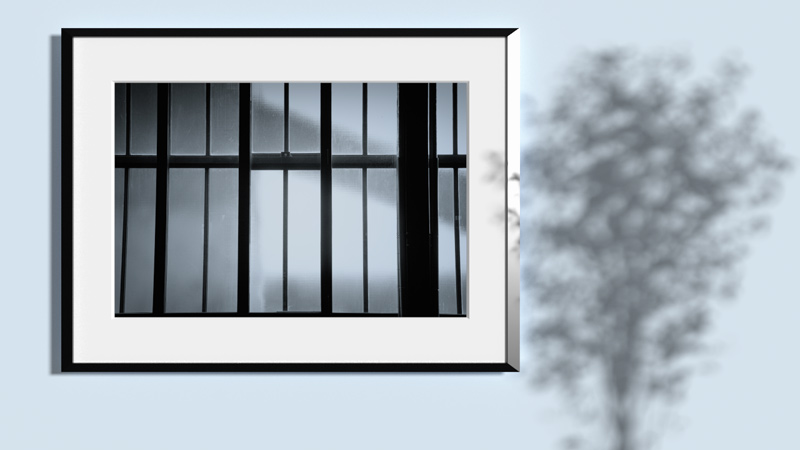 Barred windows Frame