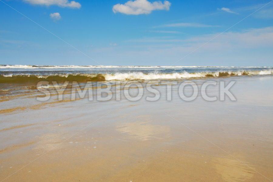 Beach scene on an island - Jan Brons Stock Images