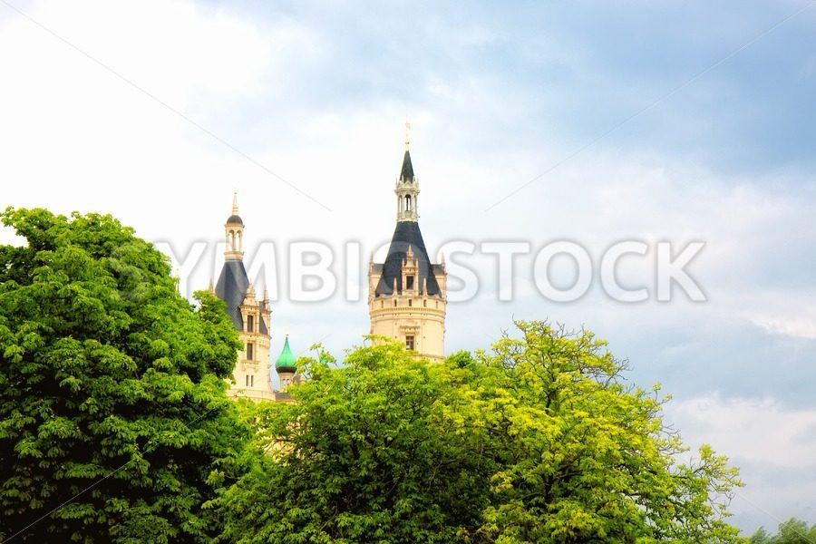 Beautiful Schwerin castle - Jan Brons Stock Images