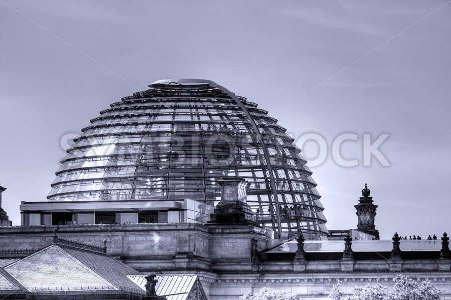 Berlin Reichstag Dome. - Jan Brons Stock Images