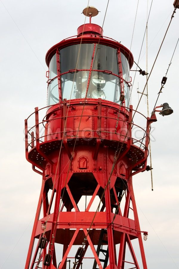 Detail of old lightship - Jan Brons Stock Images