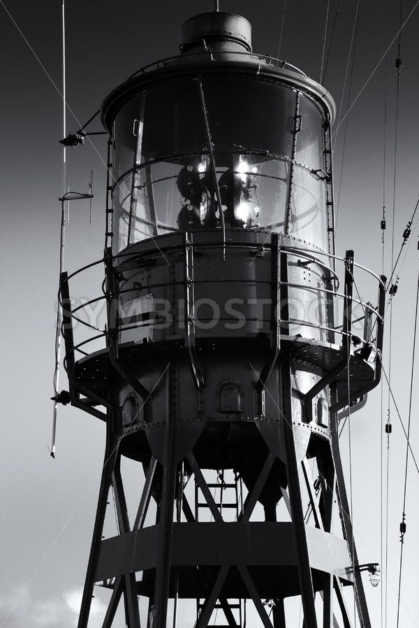 Lead me home lightship - Jan Brons Stock Images