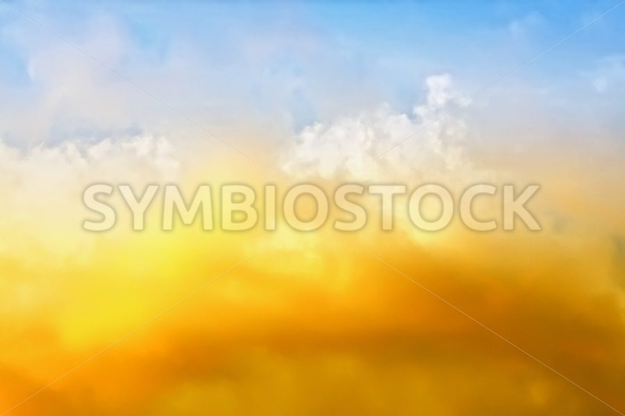 Red white clouds - Jan Brons Stock Images