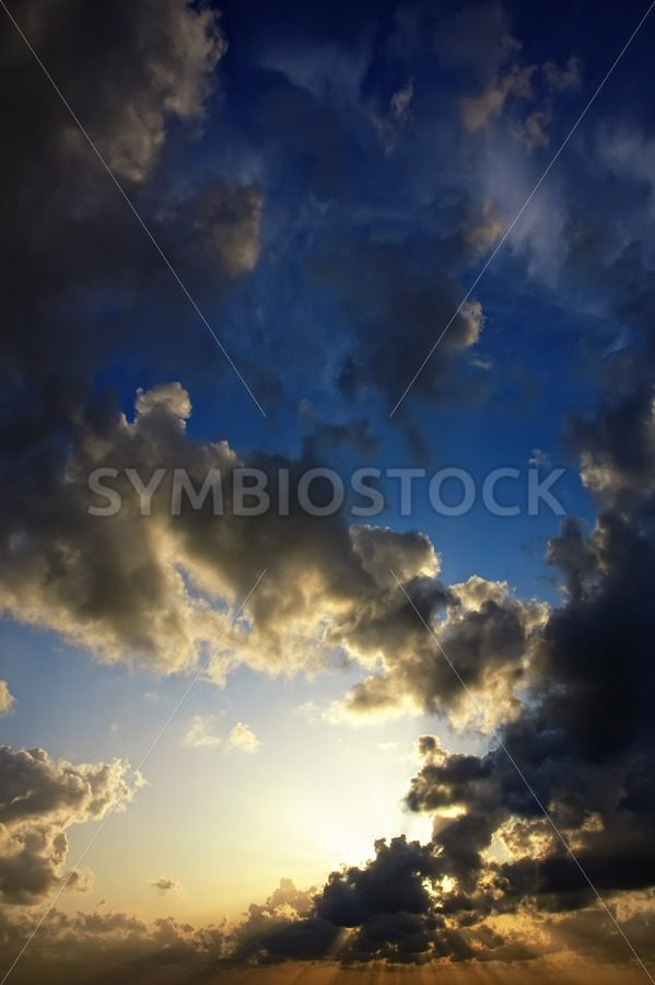 Stratosphere to surface - Jan Brons Stock Images