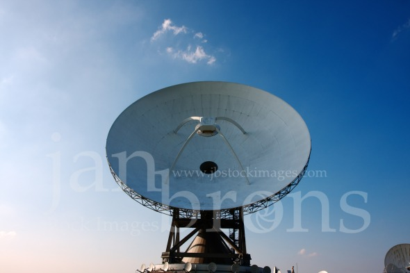 Communication and safety via satellite dishes.